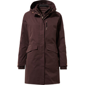 Craghoppers Cato 3in1 Jacke Damen port